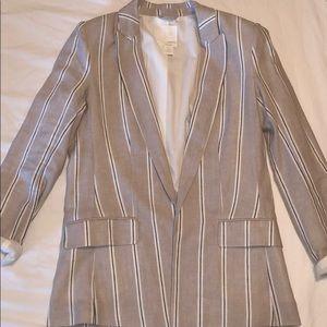 H&M Linen blend blazer
